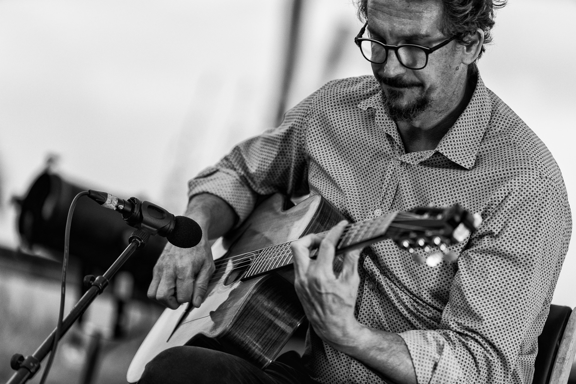 Karim Duménil du groupe Swing d'O