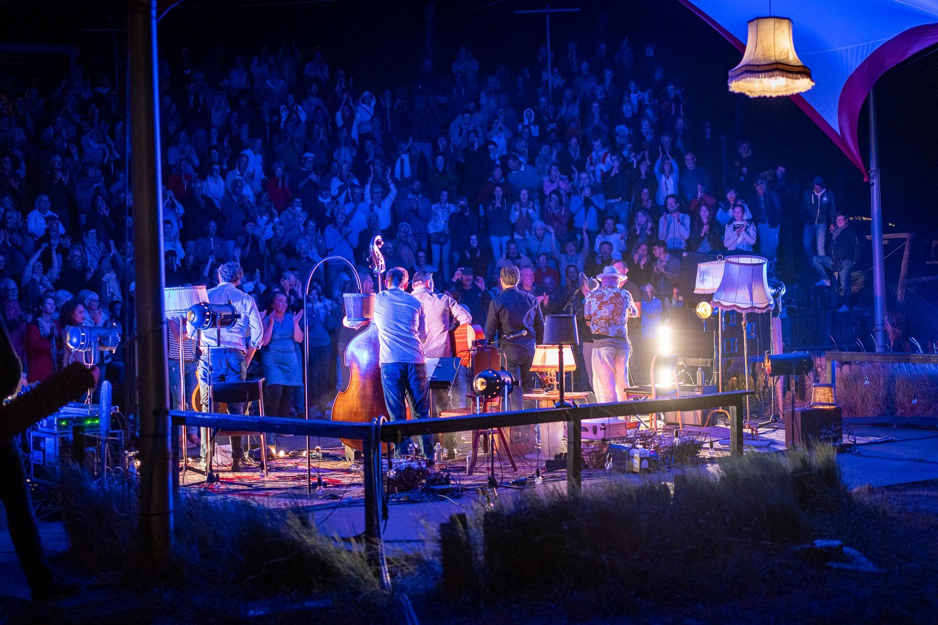 Public de Swing d'O en concert avec Sanseverino